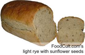 Light Rye Bread with Sunflower Seeds