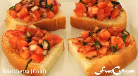 Bruschetta (Cold)