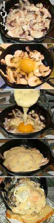 Eggs Galganov - Method