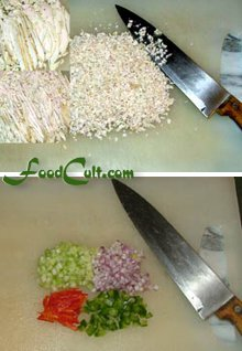 chicken or turkey salad method pictures