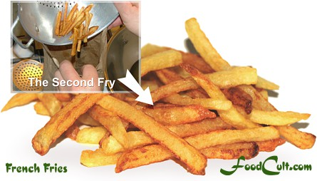French Fries Method - First Fry