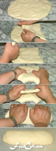 Italian White Bread Method - Forming