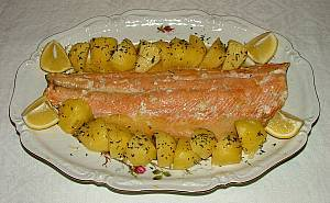 salmon potatoes